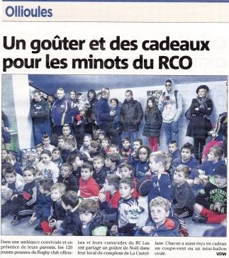 Article noel rco